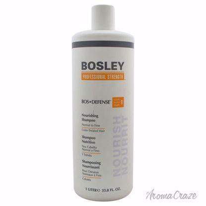 Bosley Bos-Defense Nourishing Shampoo for Normal To Fine Col