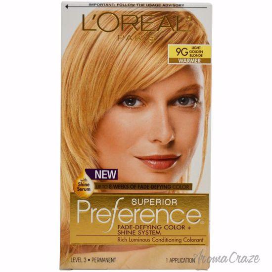 Loreal Paris Superior Preference 9g Light Golden Blonde Hair Color
