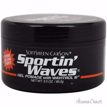 SoftSheen Carson Sportin' Waves Gel Pomade with Wavitrol III