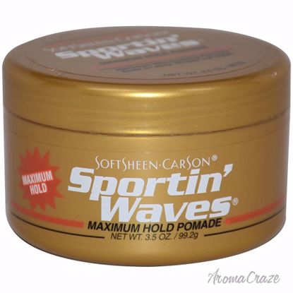 SoftSheen Carson Sportin' Waves Maximum Hold Gel Pomade Unis