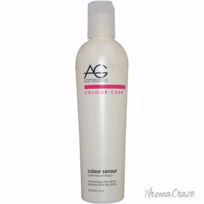 AG Hair Cosmetics Colour Savour Sulfate-Free Shampoo Unisex 8 oz - Hair Shampoo | Best Shampoo For Hair Growth | Shampoo and Conditioner For Damage Hair | Fizzy Hair Shampoo | Best Professional Shampoo | Top Brands Hair Care Products | AromaCraze.com