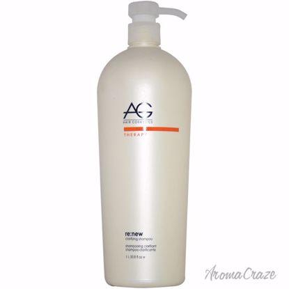 AG Hair Cosmetics ReNew Clarifying Shampoo Unisex 33.8 oz - Hair Shampoo | Best Shampoo For Hair Growth | Shampoo and Conditioner For Damage Hair | Fizzy Hair Shampoo | Best Professional Shampoo | Top Brands Hair Care Products | AromaCraze.com