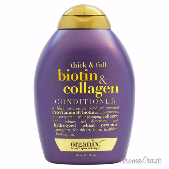 Organix Thick and Full Biotin and Collagen Unisex 13 oz - Hair Conditioner | Best Hair Conditioners | hair conditioner for dry hair | hair conditioner for womens | Moisturizing Hair Conditioner | Hair Care Products | AromaCraze.com
