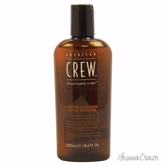 American Crew Power Cleanser Style Remover Shampoo Unisex 8.4 oz - Hair Shampoo | Best Shampoo For Hair Growth | Shampoo and Conditioner For Damage Hair | Fizzy Hair Shampoo | Best Professional Shampoo | Top Brands Hair Care Products | AromaCraze.com