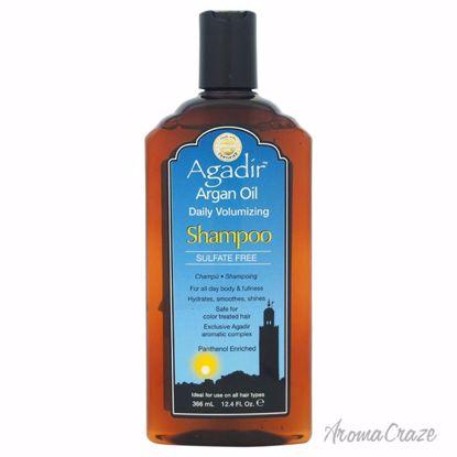 Agadir Argan Oil Daily Volumizing Shampoo Unisex 12.4 oz - Hair Shampoo | Best Shampoo For Hair Growth | Shampoo and Conditioner For Damage Hair | Fizzy Hair Shampoo | Best Professional Shampoo | Top Brands Hair Care Products | AromaCraze.com