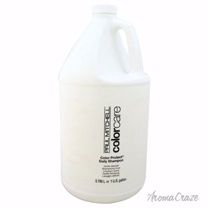 Paul Mitchell Color Protect Daily Shampoo Unisex 1 Gallon - Hair Shampoo | Best Shampoo For Hair Growth | Shampoo and Conditioner For Damage Hair | Fizzy Hair Shampoo | Best Professional Shampoo | Top Brands Hair Care Products | AromaCraze.com