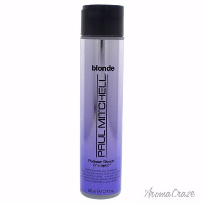 Paul Mitchell Platinum Blonde Shampoo Unisex 10.14 oz - Hair Shampoo | Best Shampoo For Hair Growth | Shampoo and Conditioner For Damage Hair | Fizzy Hair Shampoo | Best Professional Shampoo | Top Brands Hair Care Products | AromaCraze.com