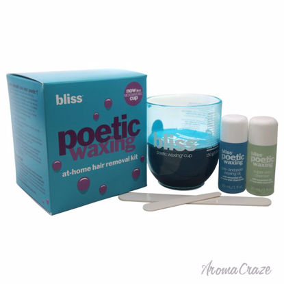 Bliss Poetic Waxing At-Home Hair Removal Kit 5.3oz Microwave