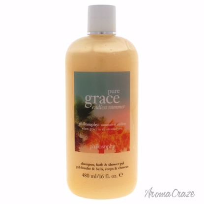 Philosophy Pure Grace Endless Summer Shampoo Bath & Shower Gel for Women 16 oz - Hair Styling Products | Hair Styling Cream | Hair Spray | Hair Styling Products For Men | Hair Styling Products For Women | Hair Care Products | AromaCraze.com