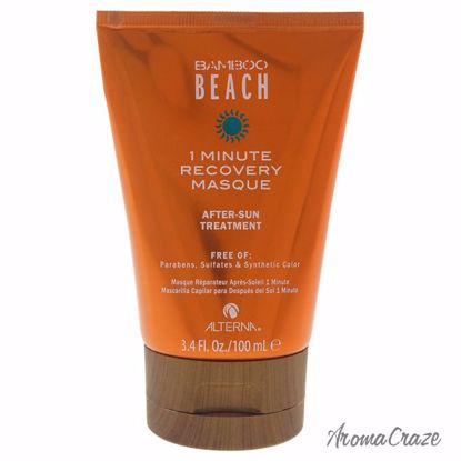 Alterna Bamboo Beach 1 Minute Recovery Masque Treatment for Women 3.4 oz - Hair Treatment Products | Best Hair Styling Product | Hair Oil Treatment | Damage Hair Treatment | Hair Care Products | Hair Spray | Hair Volumizing Product | AromaCraze.com