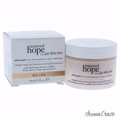 Philosophy Renewed Hope In A Jar Skin Tint SPF 20 # 3.5 Sand Gel for Women 1 oz - Hair Styling Products | Hair Styling Cream | Hair Spray | Hair Styling Products For Men | Hair Styling Products For Women | Hair Care Products | AromaCraze.com