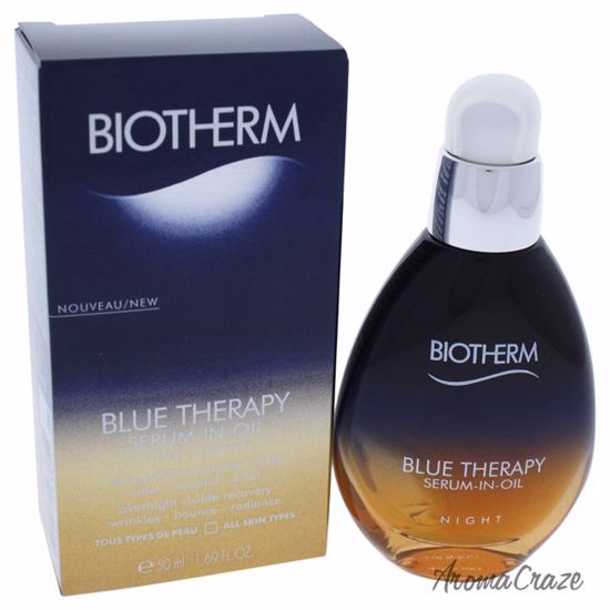 Biotherm Blue Therapy Serum-In-Oil Night for Women 1.69 oz