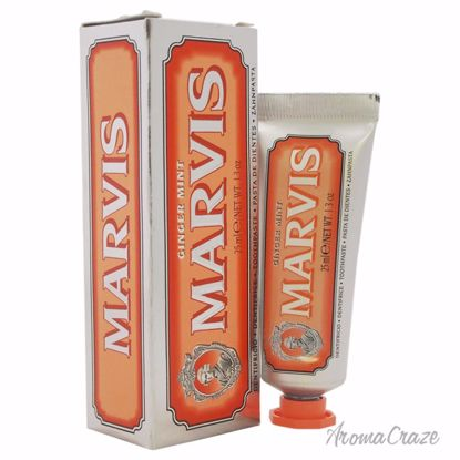 Marvis Ginger Mint Toothpaste Unisex 1.3 oz - Oral Care Products | Whitening Toothpaste | Best Toothbrush | AromaCraze.com