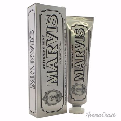 Marvis Whitening Mint Travel Toothpaste Unisex 3.8 oz - Oral Care Products | Whitening Toothpaste | Best Toothbrush | AromaCraze.com