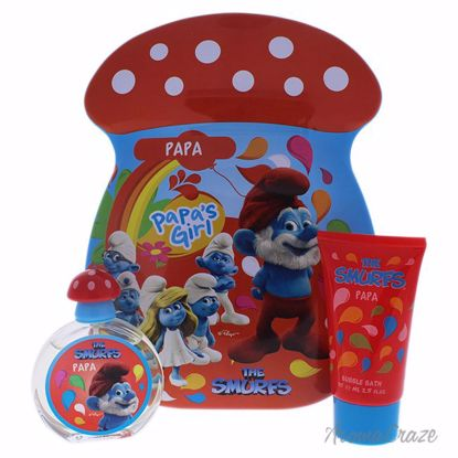 First American Brands The Smurfs Papa Gift Set for Kids 2 pc