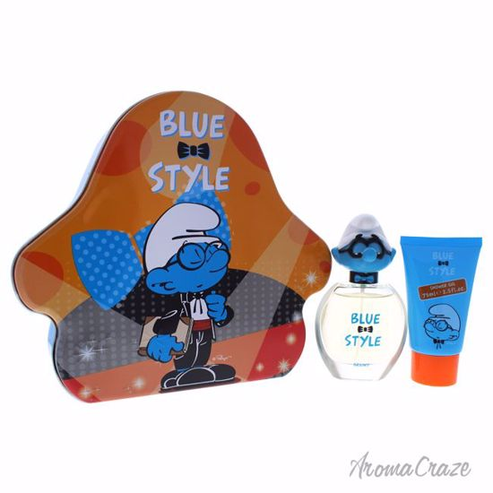 First American Brands The Smurfs Blue Style Brainy Gift Set