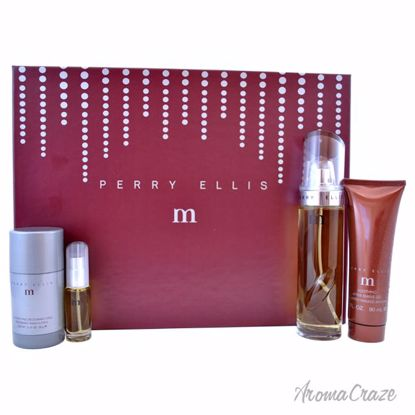 Perry by Perry Ellis Gift Set for Men 4 pc