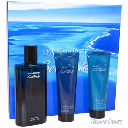 Zino Davidoff Cool Water Gift Set for Men 3 pc