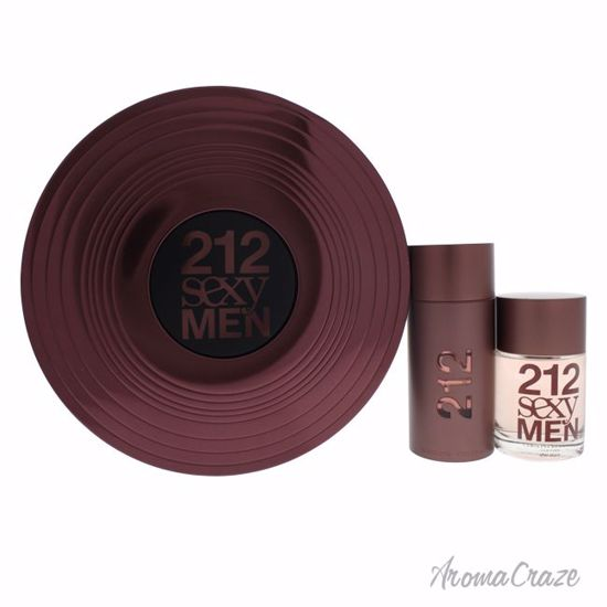 b41a6059a Carolina Herrera 212 Sexy Men Gift Set for Men 2 pc - AromaCraze.com ...