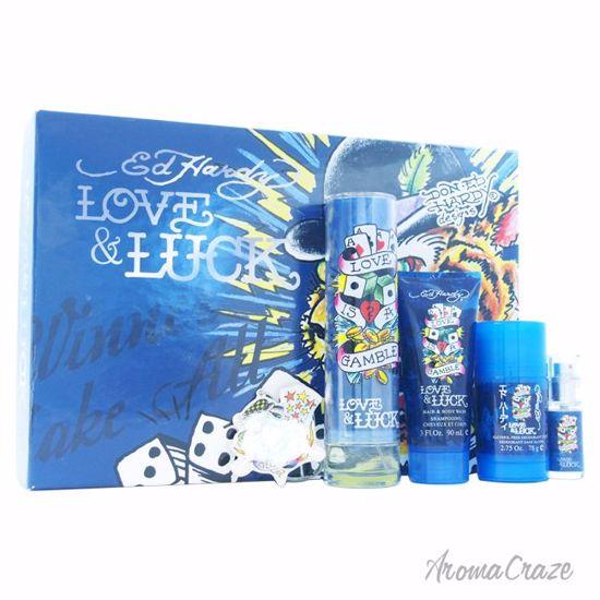 Christian Audigier Ed Hardy Love & Luck Gift Set for Men 5 p
