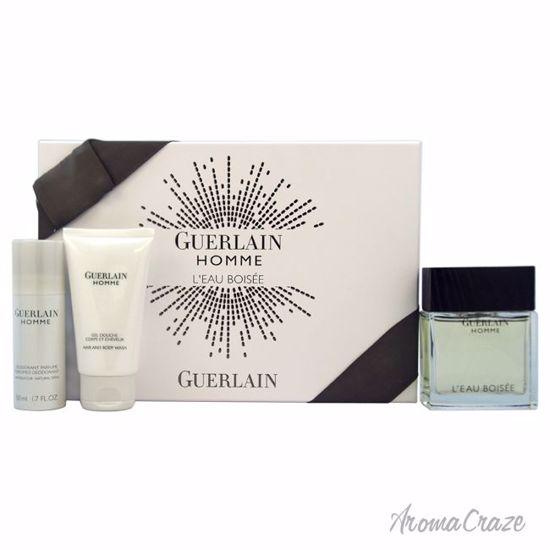 Guerlain Homme L'eau Boisee Gift Set for Men 3 pc