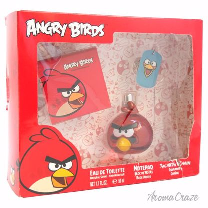 Angry Birds Red Gift Set for Men 3 pc