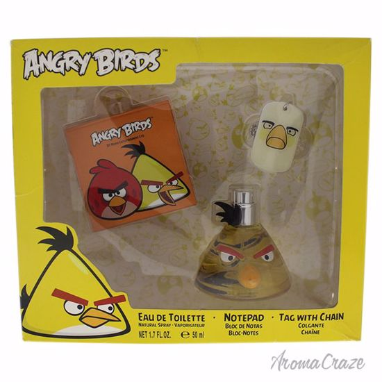 Angry Birds Yellow Gift Set for Men 3 pc