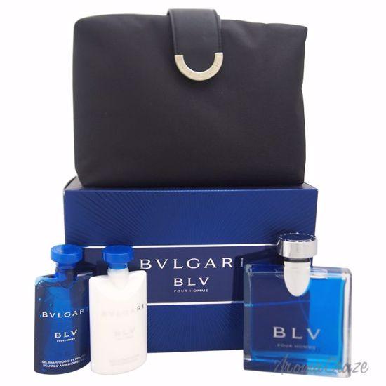 Bvlgari Blv Gift Set for Men 4 pc