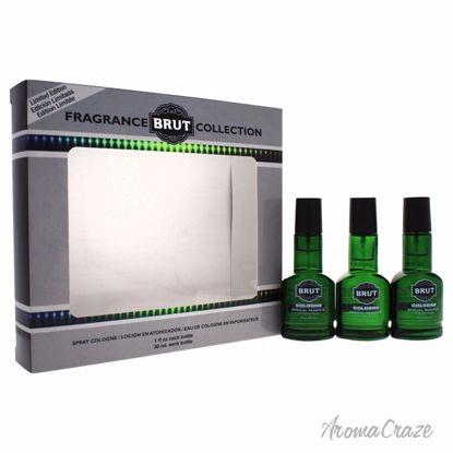 Faberge Co. Brut Fragrance Collection Gift Set for Men 3 pc