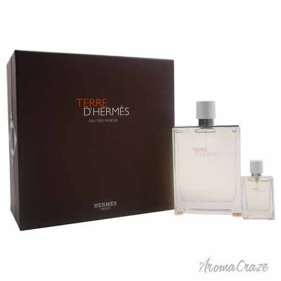 Hermes Terre D'Hermes Eau Tres Fraiche Gift Set for Men 2 pc
