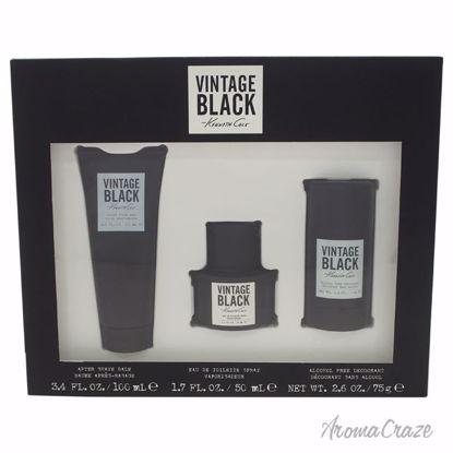 Kenneth Cole Vintage Black Gift Set for Men 3 pc