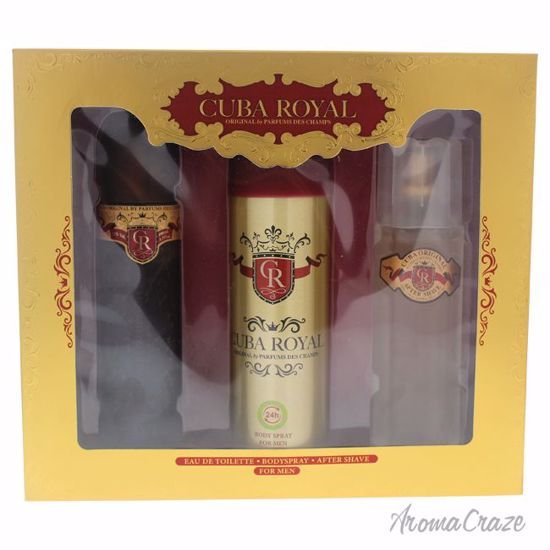 Cuba Royal Gift Set for Men 3 pc