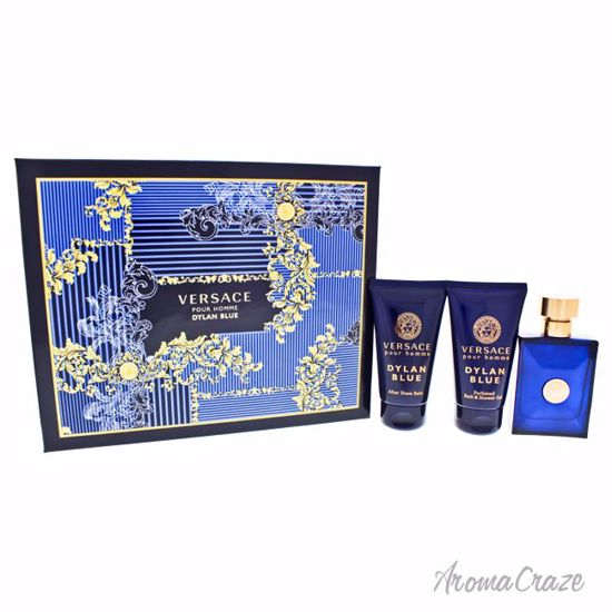 8873e3ae9d Versace Dylan Blue Gift Set for Men 3 pc - AromaCraze.com - Best ...