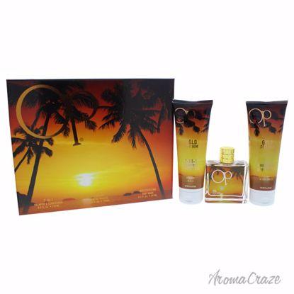 Ocean Pacific Op Gold Gift Set for Men 3 pc