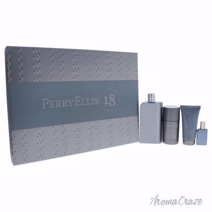 Perry Ellis 18 Gift Set for Men 4 pc