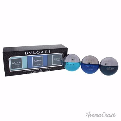 Bvlgari The Aqva Pour Homme Travel Collection Gift Set for M
