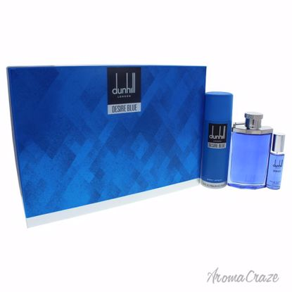 Alfred Dunhill Desire Blue Gift Set for Men 3 pc