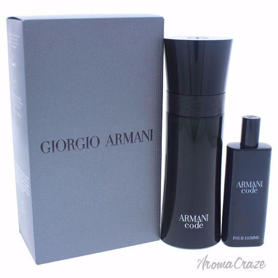 Armani By Giorgio Armani Code Travel Exclusive Gift Set For Men 2 Pc