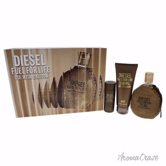 Diesel Fuel For Life Pour Homme Gift Set for Men 3 pc