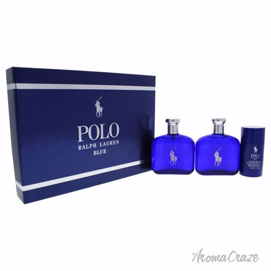 Gift Pc Ralph Blue Set Men Polo 3 Lauren For hCBtdosQrx