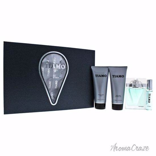 Parfum Blaze Tiamo Elegant Gift Set for Men 4 pc