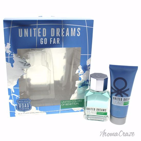 United Colors of Benetton Go Far Gift Set for Men 2 pc