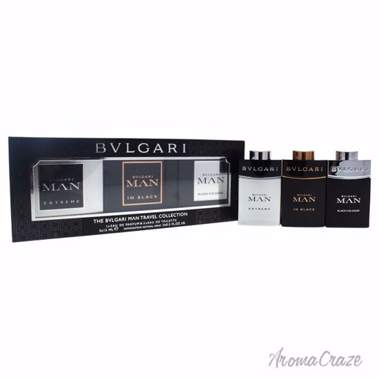 The Bvlgari Man Travel Collection Gift Set for Men 3 pc