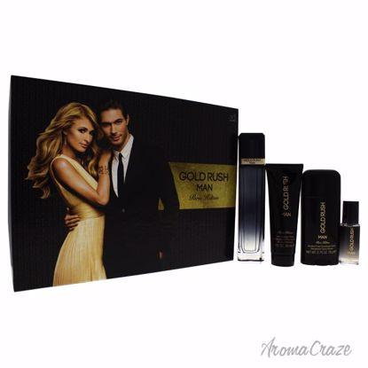 Paris Hilton Gold Rush Man Gift Set for Men 4 pc