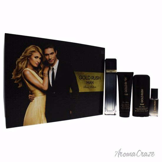 Paris Hilton Gold Rush Man Gift Set for Men 4 pc  sc 1 st  AromaCraze.com & Paris Hilton Gold Rush Man Gift Set for Men 4 pc - AromaCraze.com ...