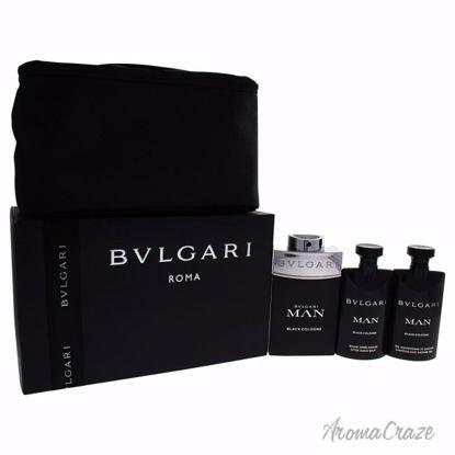Bvlgari Man Black Cologne Gift Set for Men 4 pc