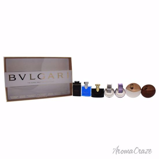 Bvlgari The Iconic Miniature Collection Gift Set Unisex 7 pc
