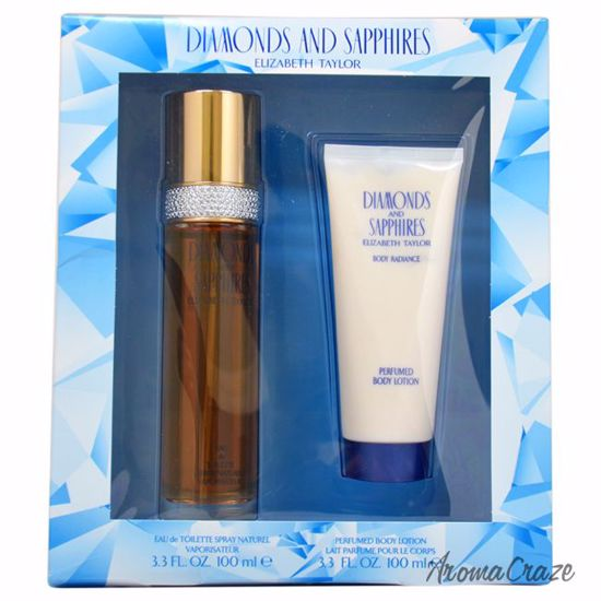 Elizabeth Taylor Diamonds and Sapphires Gift Set for Women 2