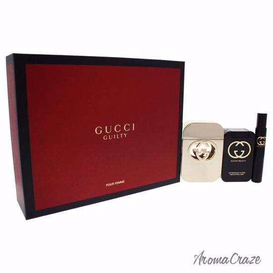 Gucci Guilty Gift Set for Women 3 pc