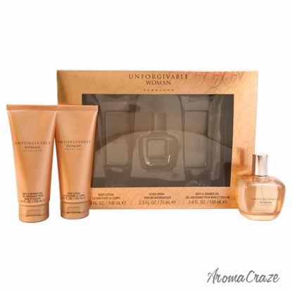 Sean John Unforgivable Woman Gift Set for Women 3 pc